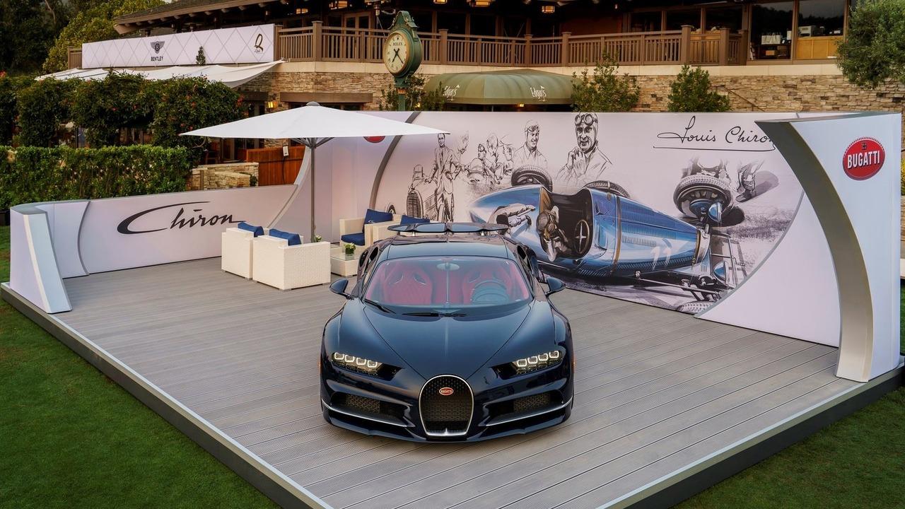 Bugatti Chiron negli Stati Uniti