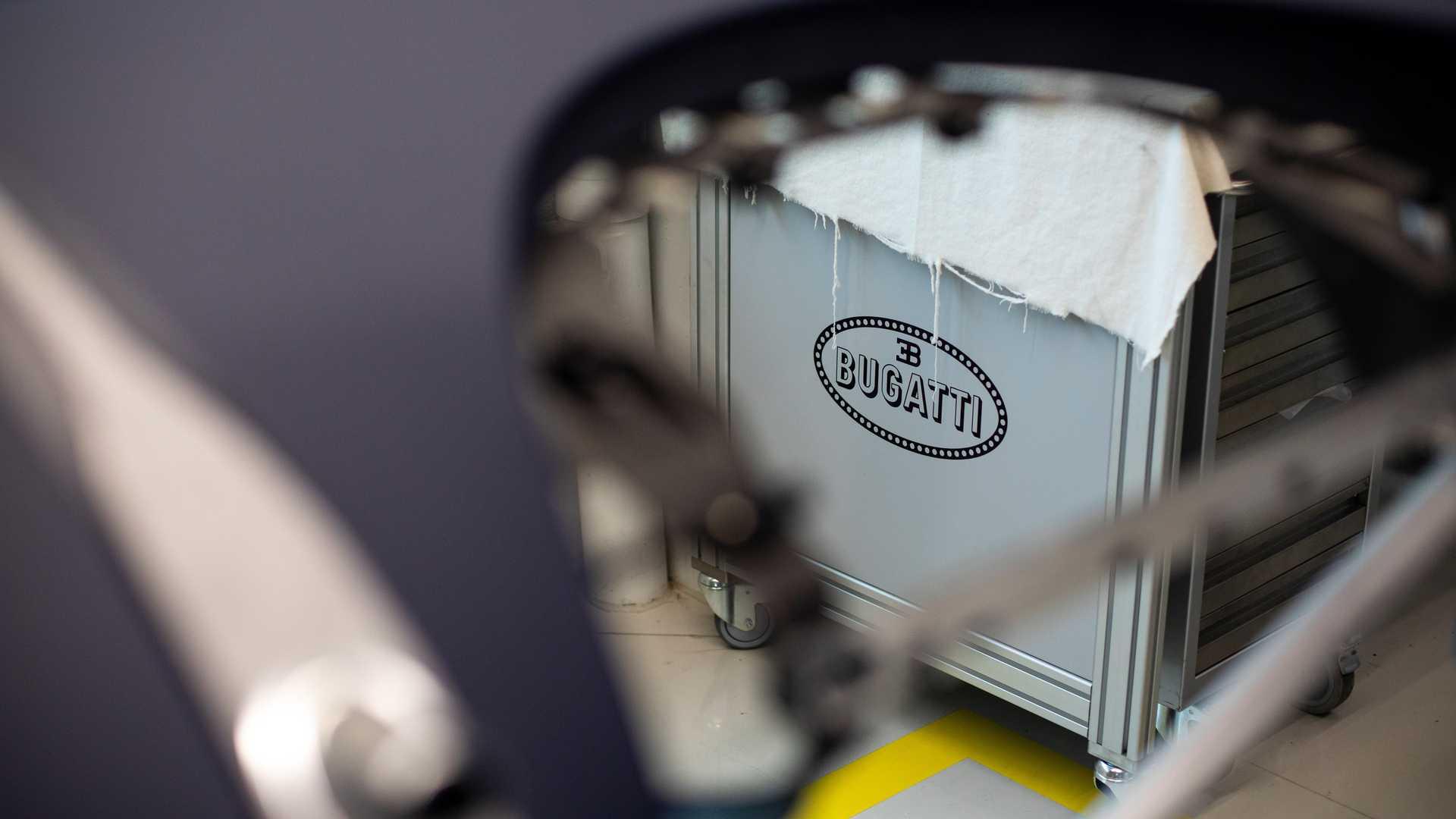 Bugatti Chiron - Produzione