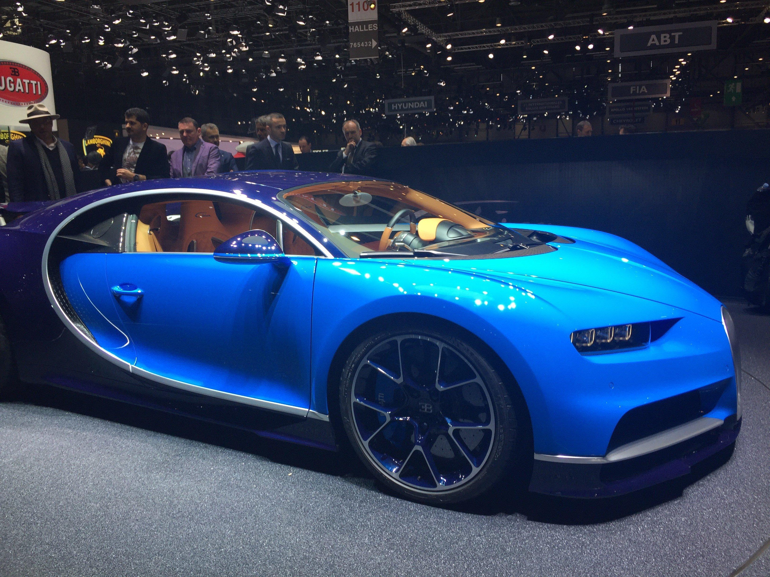 Bugatti Chiron - Salone di Ginevra 2016
