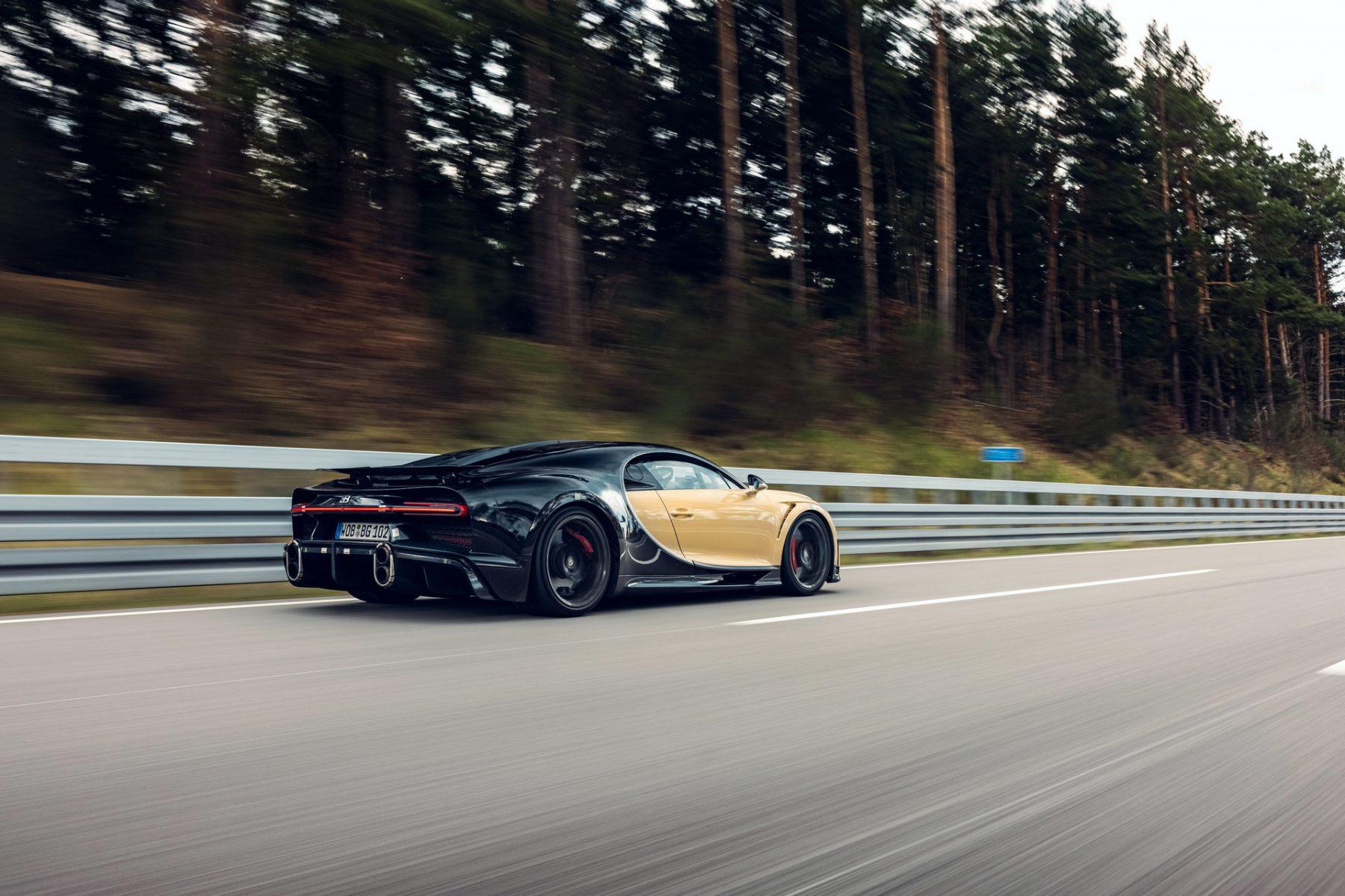 Bugatti Chiron Super Sport - Test