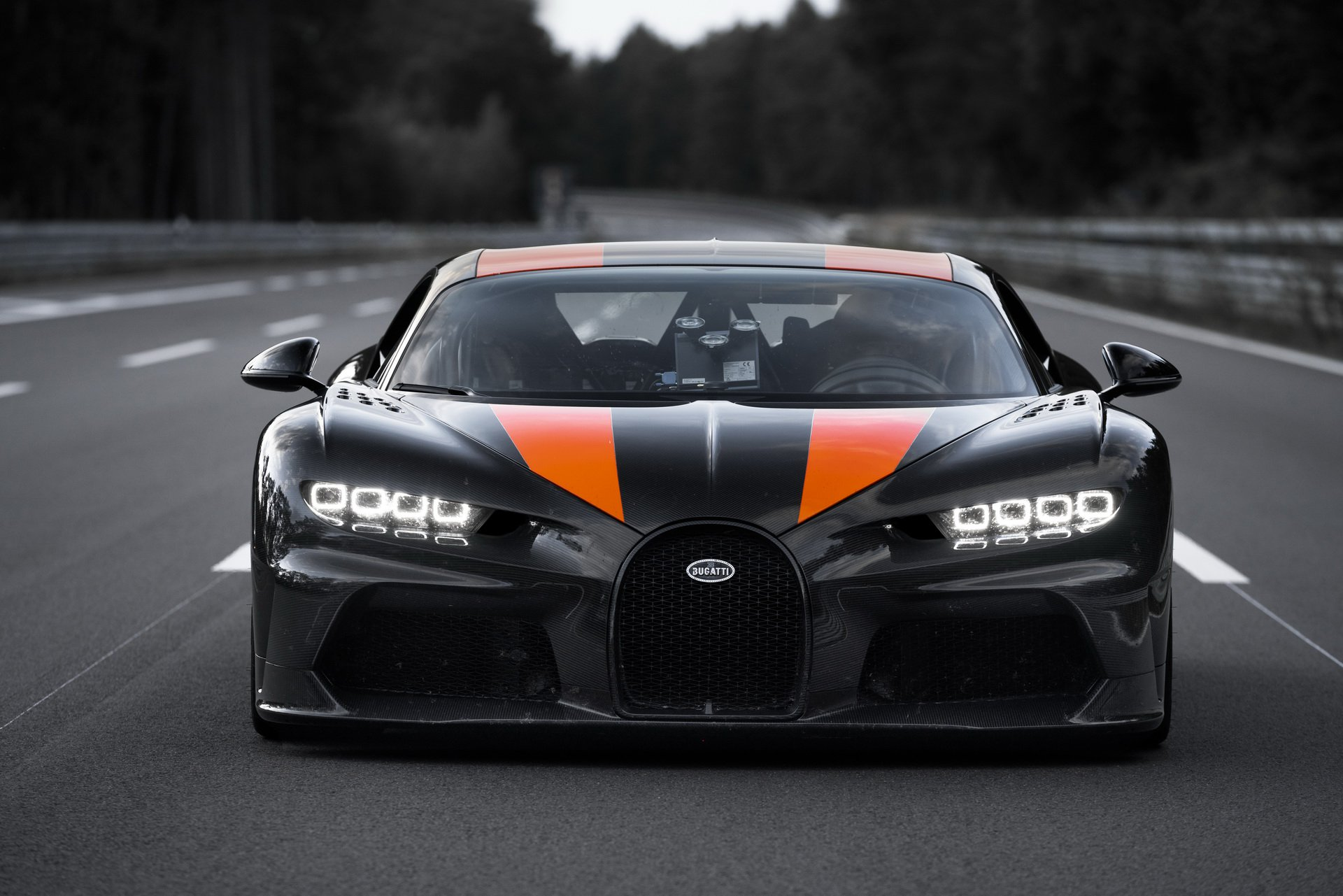 Bugatti Chiron - Top Speed