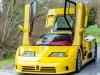 Bugatti EB110 SS gialla interni rossi asta
