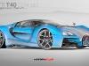 Bugatti Ettore T40 Concept by Daniele Pelligra