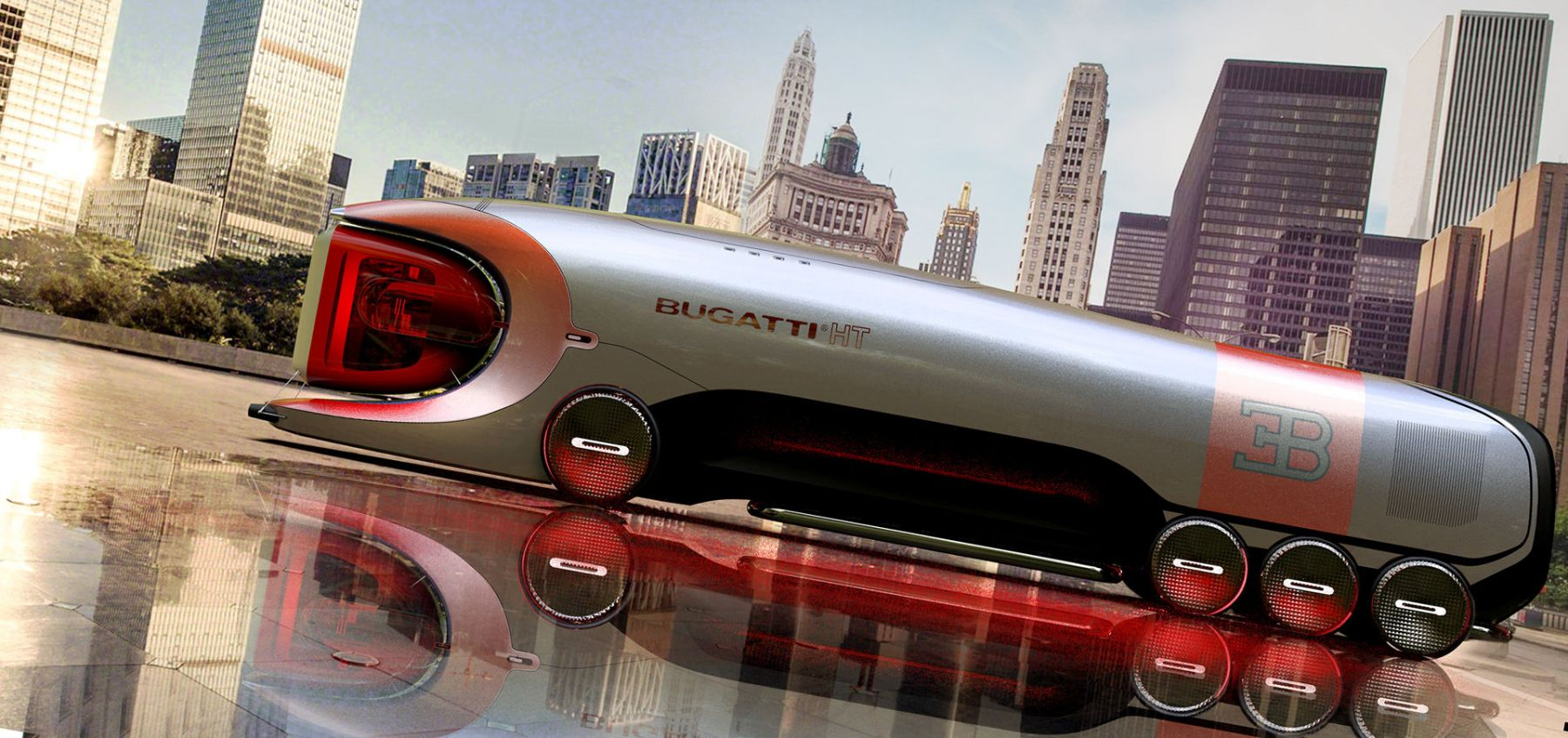 Bugatti Hyper Truck - Rendering