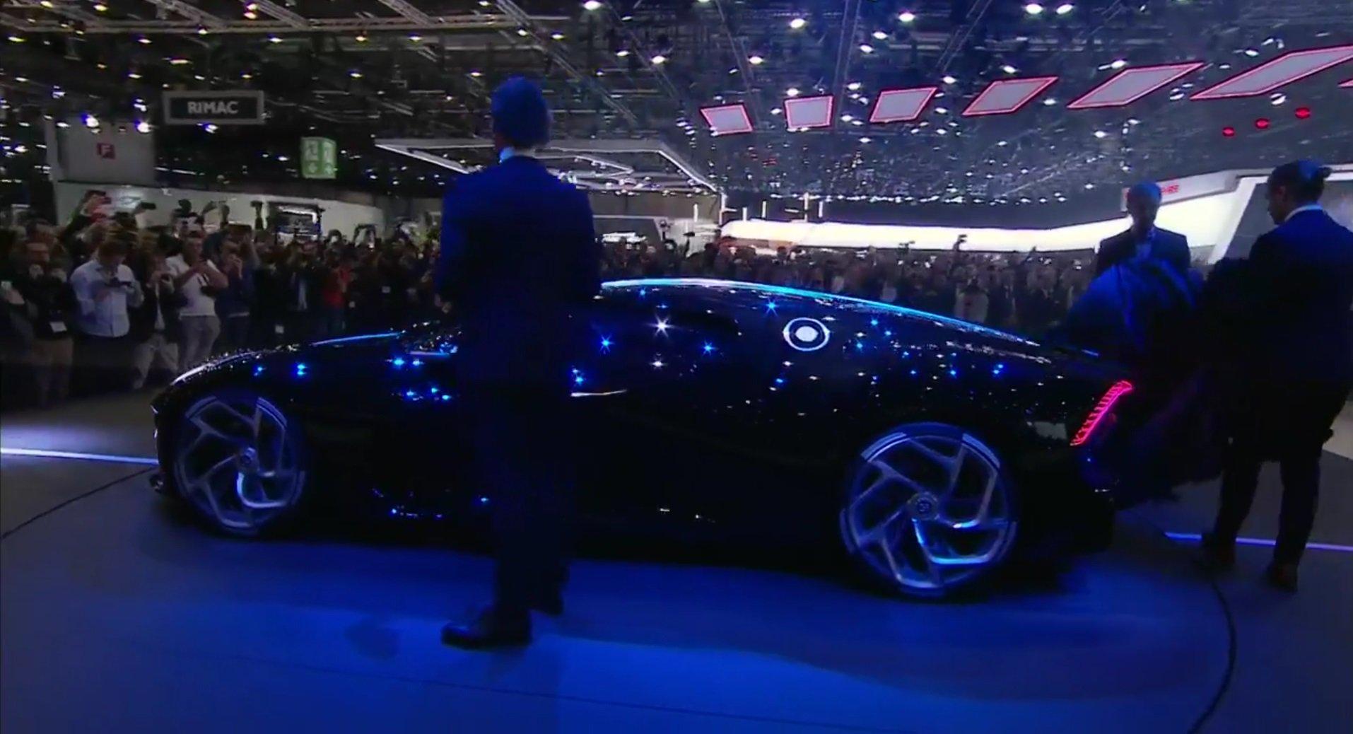 Bugatti La Voiture Noire - Salone di Ginevra 2019
