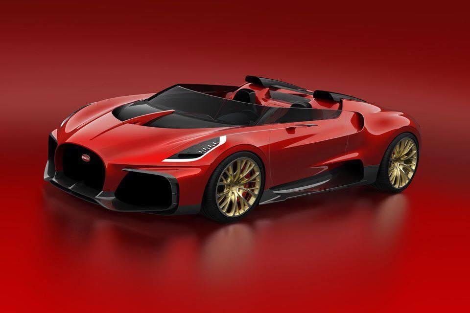 Bugatti Veyron Barchetta Concept
