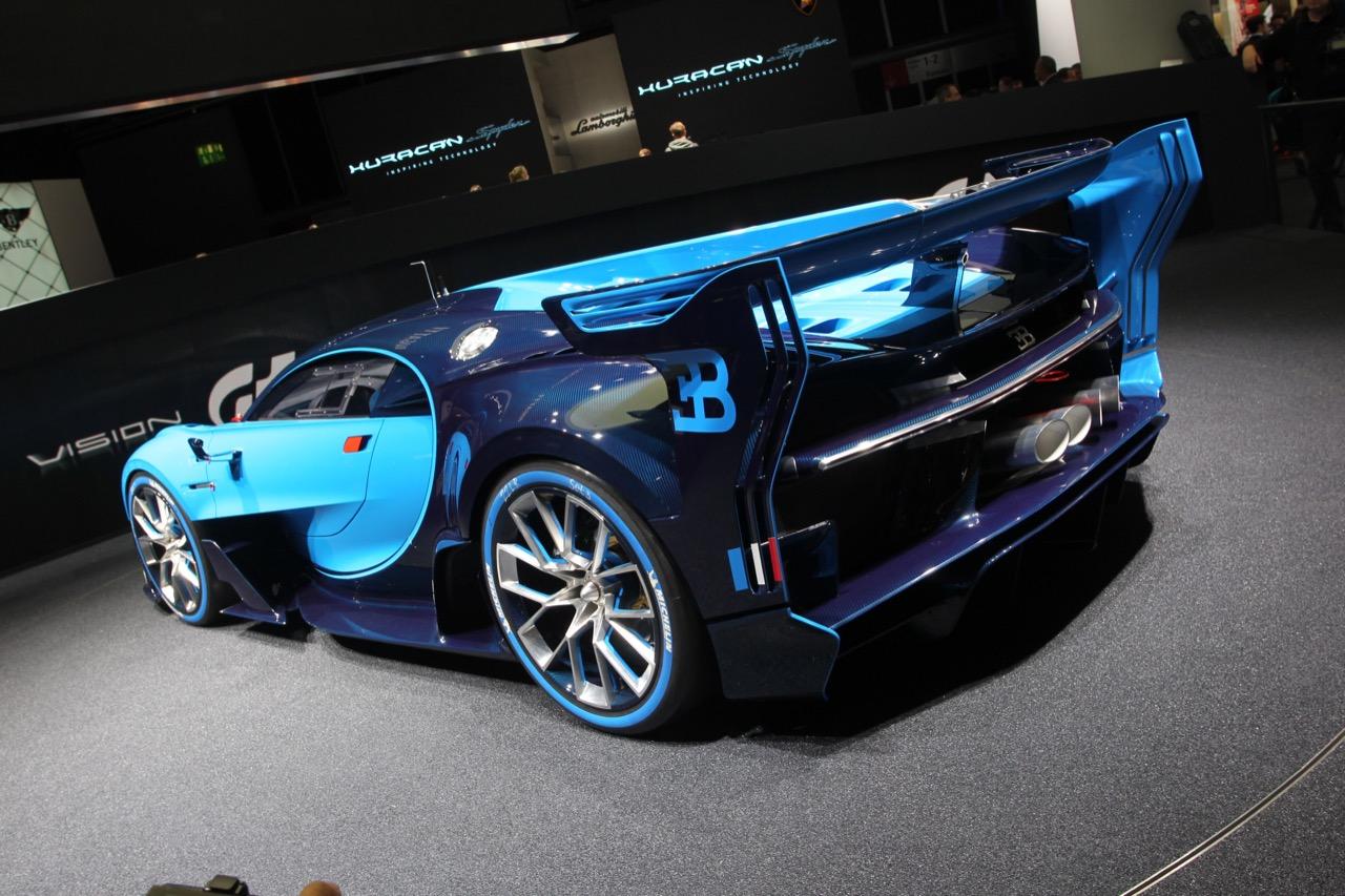 Bugatti Vision GranTurismo - Salone di Francoforte 2015