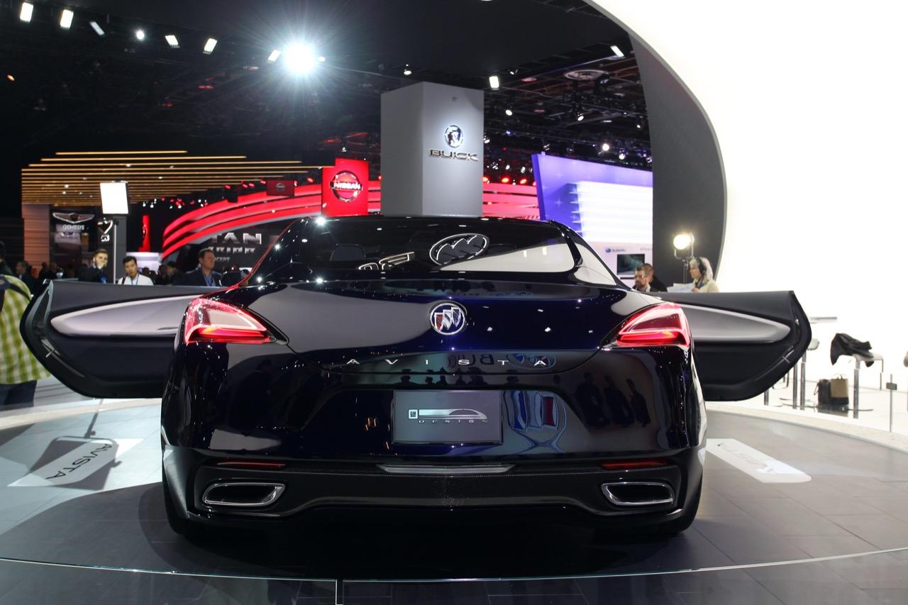 Buick Avista - Salone di Detroit 2016