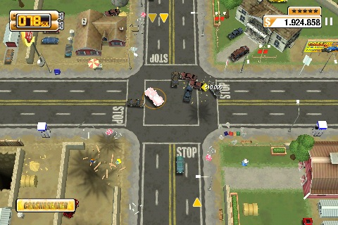 Burnout CRASH per iPhone e iPad