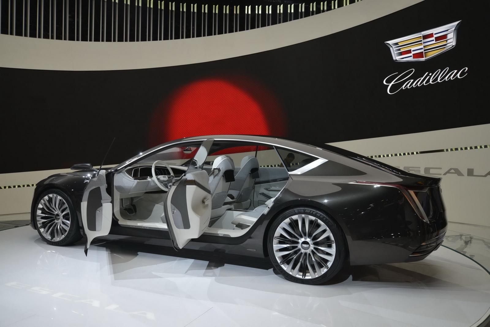 Cadillac Escala Concept - Salone di Los Angeles 2016