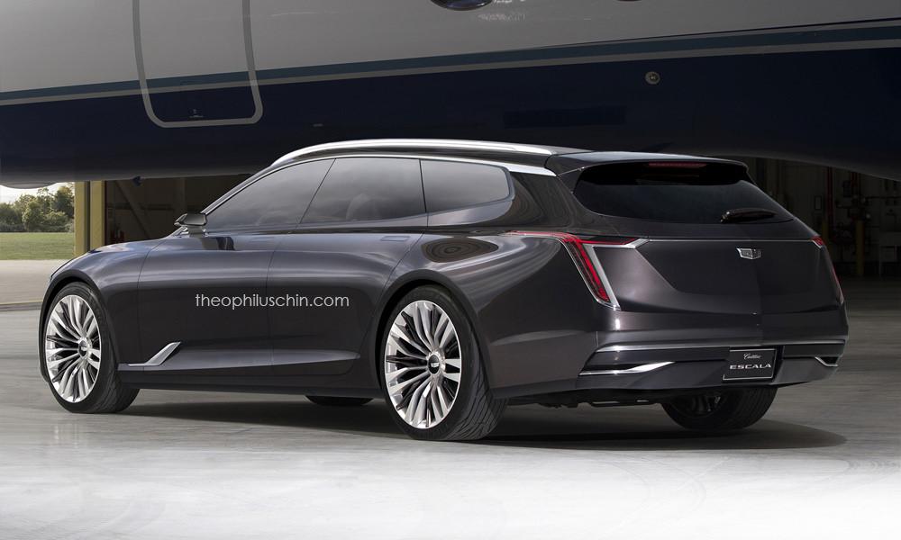 Cadillac Escala Concept station wagon (rendering) - 1/2