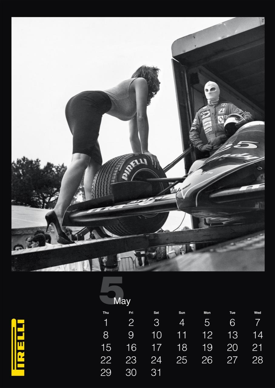 Calendario Pirelli 2014 (Foto 2 di 5)