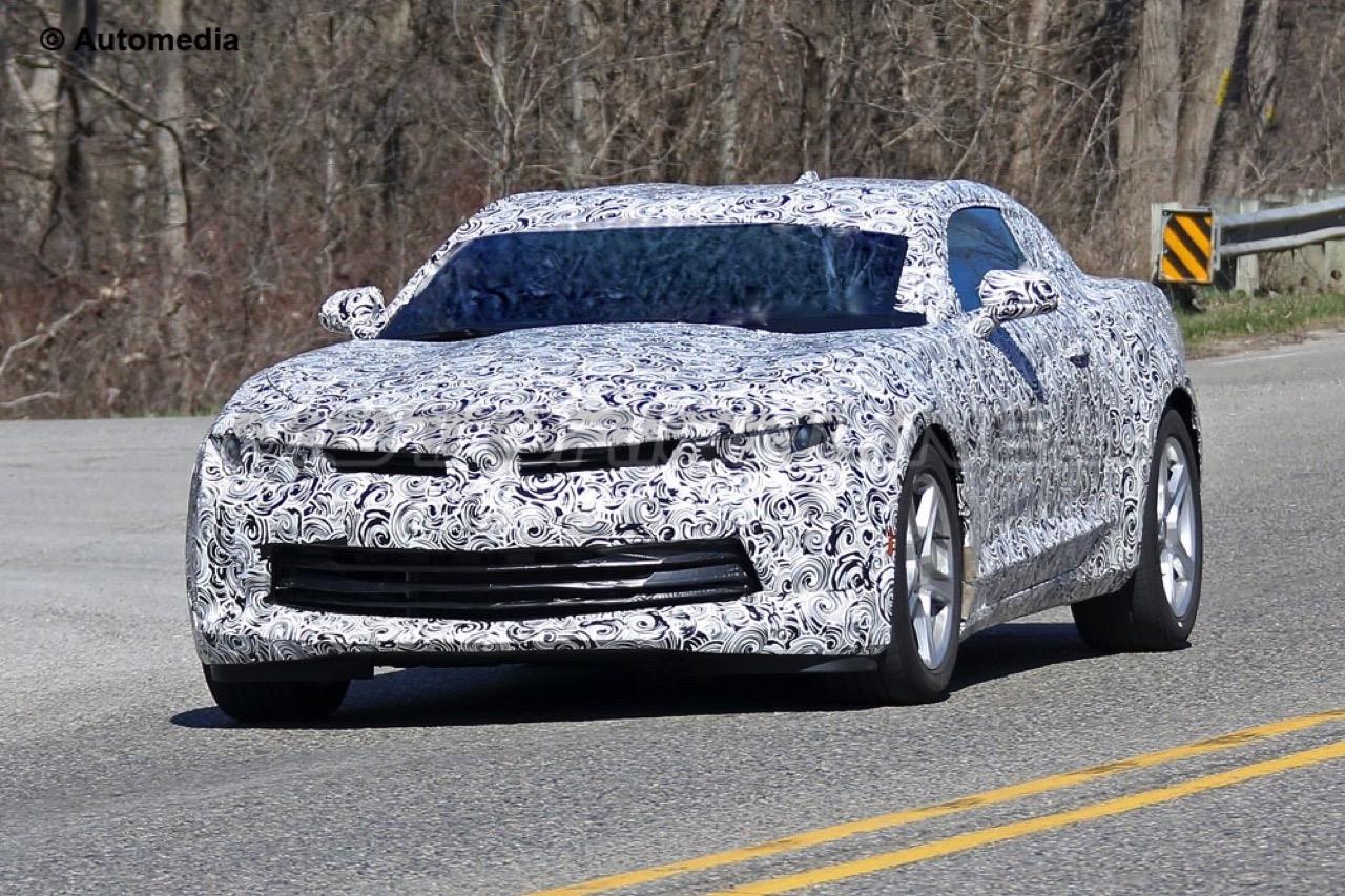 Chevrolet Camaro 2016 - Foto spia 22-04-2015
