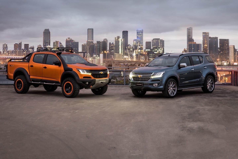 Chevrolet Colorado Xtreme e Trailblazer Premier Concept