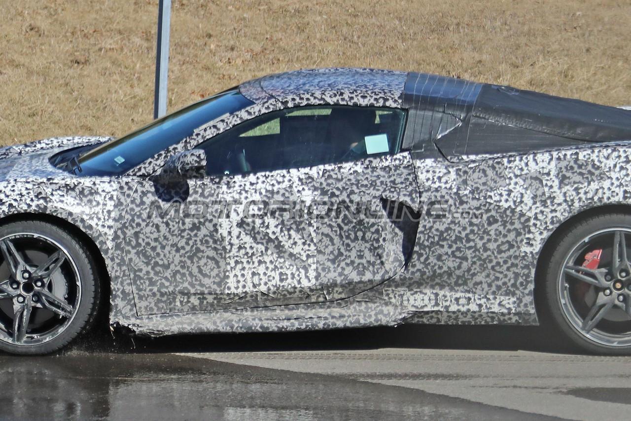Chevrolet Corvette C8 foto spia 13 marzo 2019