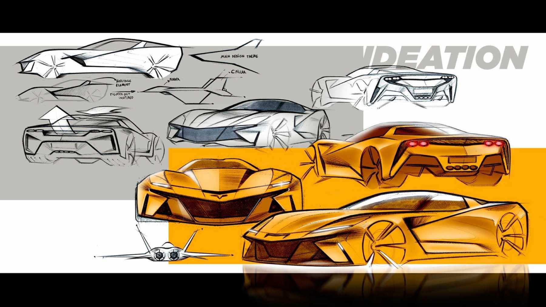 Chevrolet Corvette C9 - Render