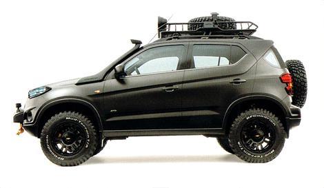 Chevrolet Niva concept immagini trapelate