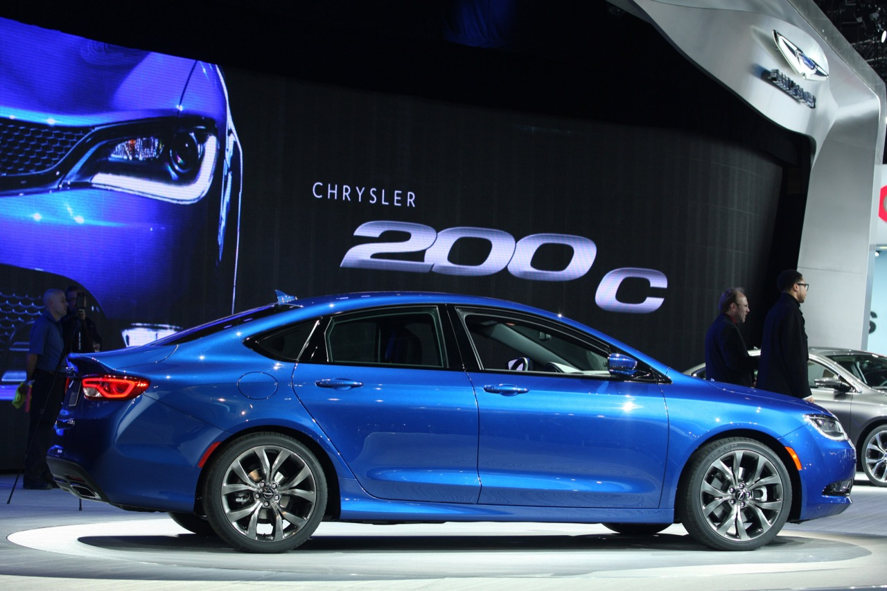 Chrysler 200 C - Salone di Detroit 2014