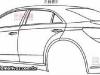 Chrysler 200C bozzetti