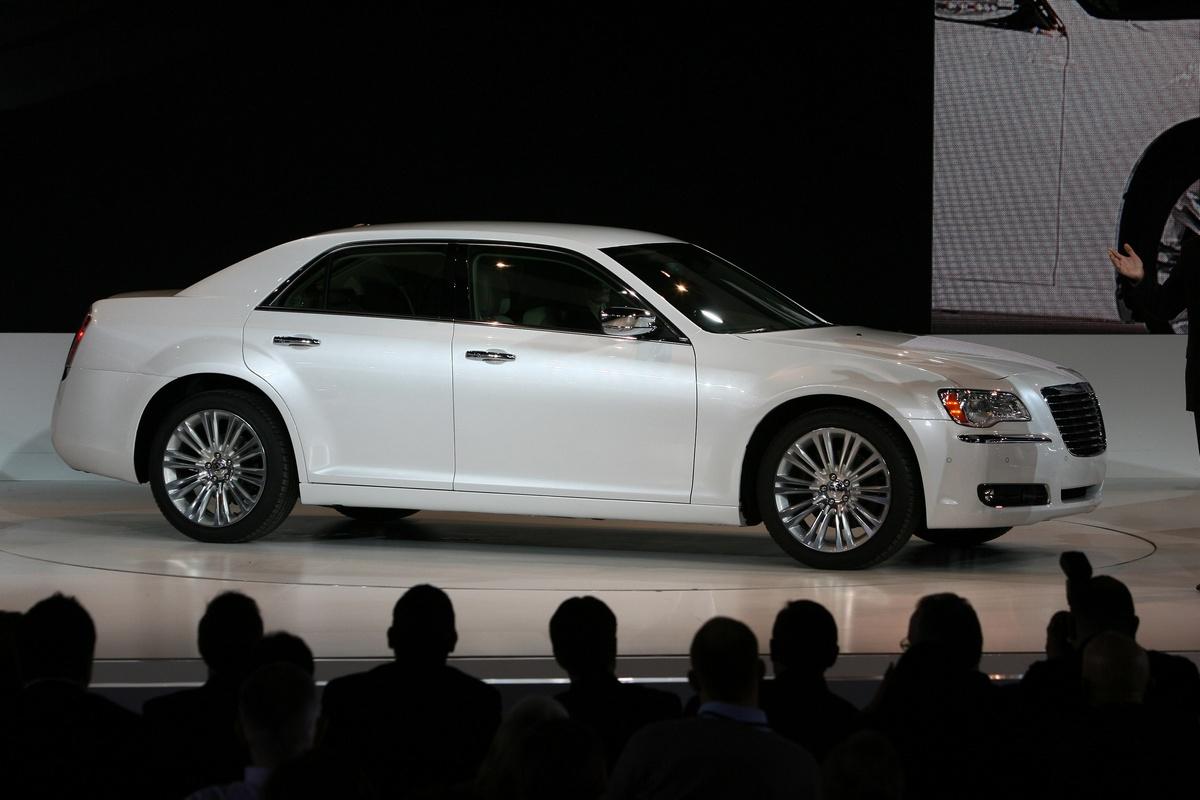 Chrysler 300c al Salone di Detroit 2011