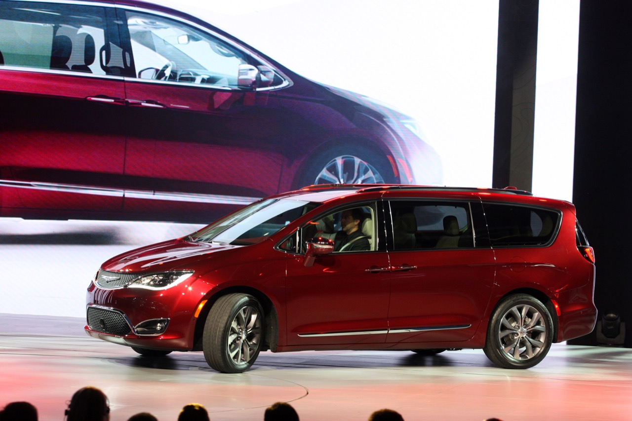 Chrysler Pacifica - Salone di Detroit 2016