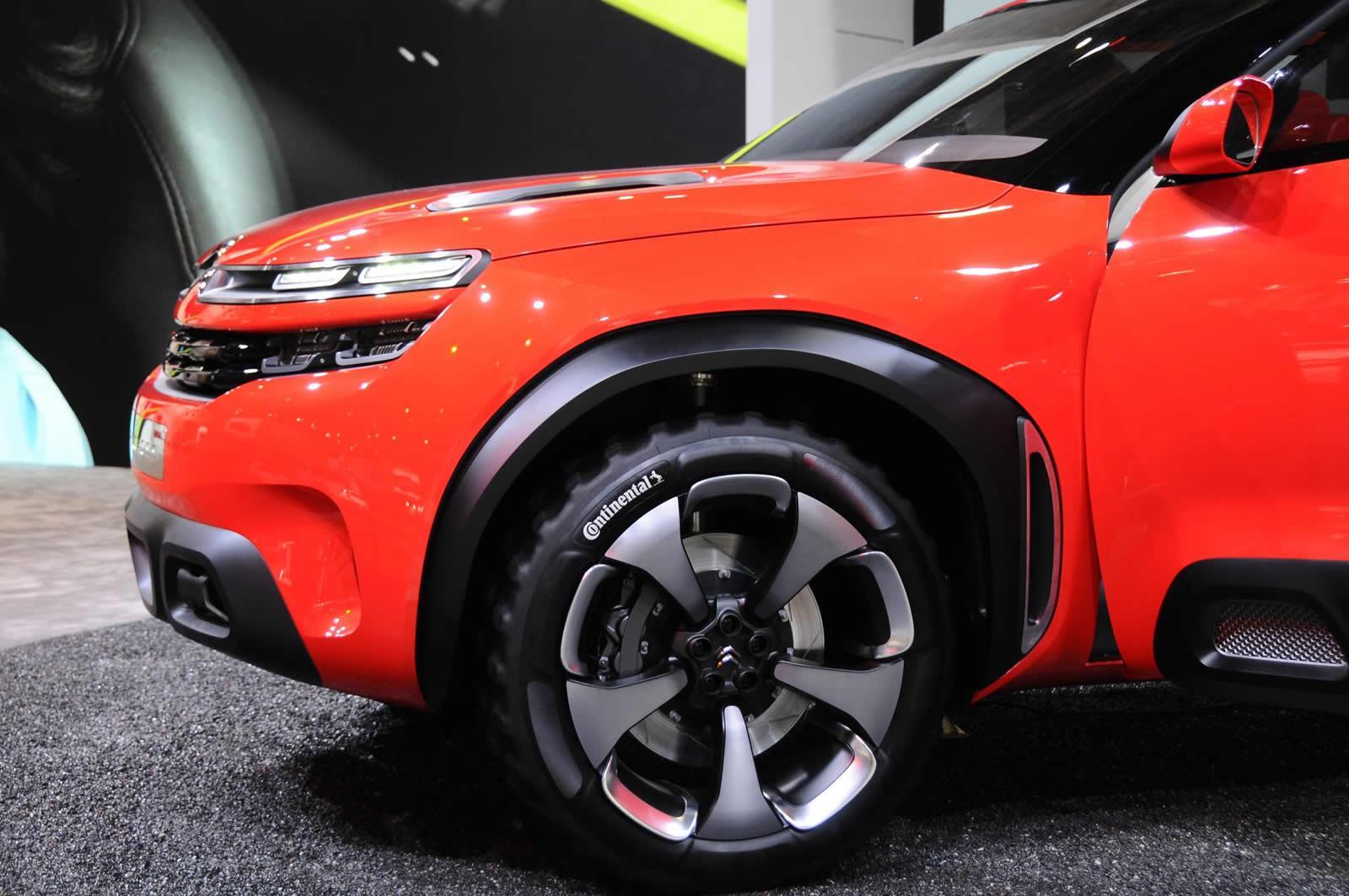 Citroen Aircross Concept - Salone di Shanghai 2015
