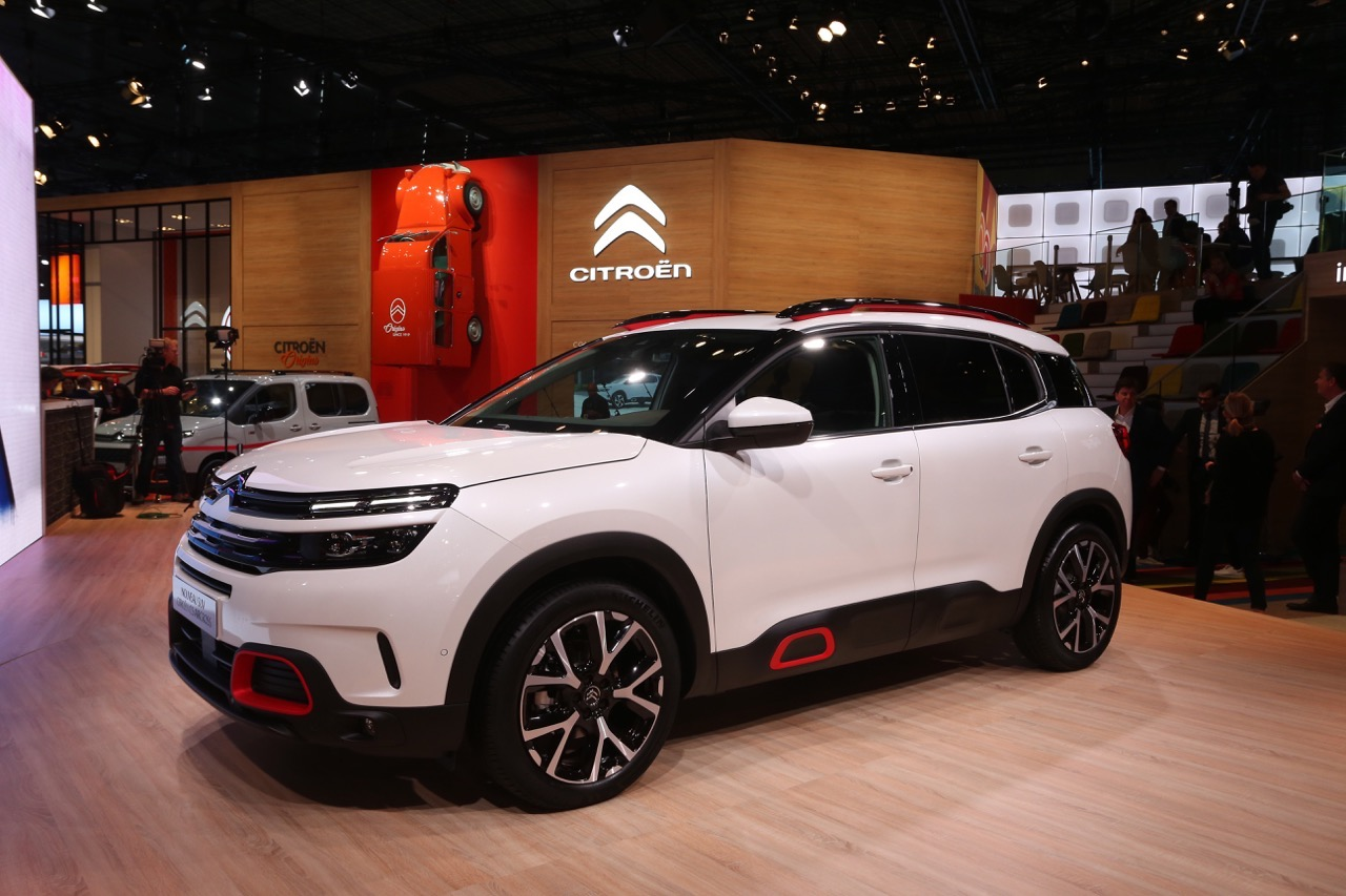 Citroen C5 Aircross - Salone di Parigi 2018