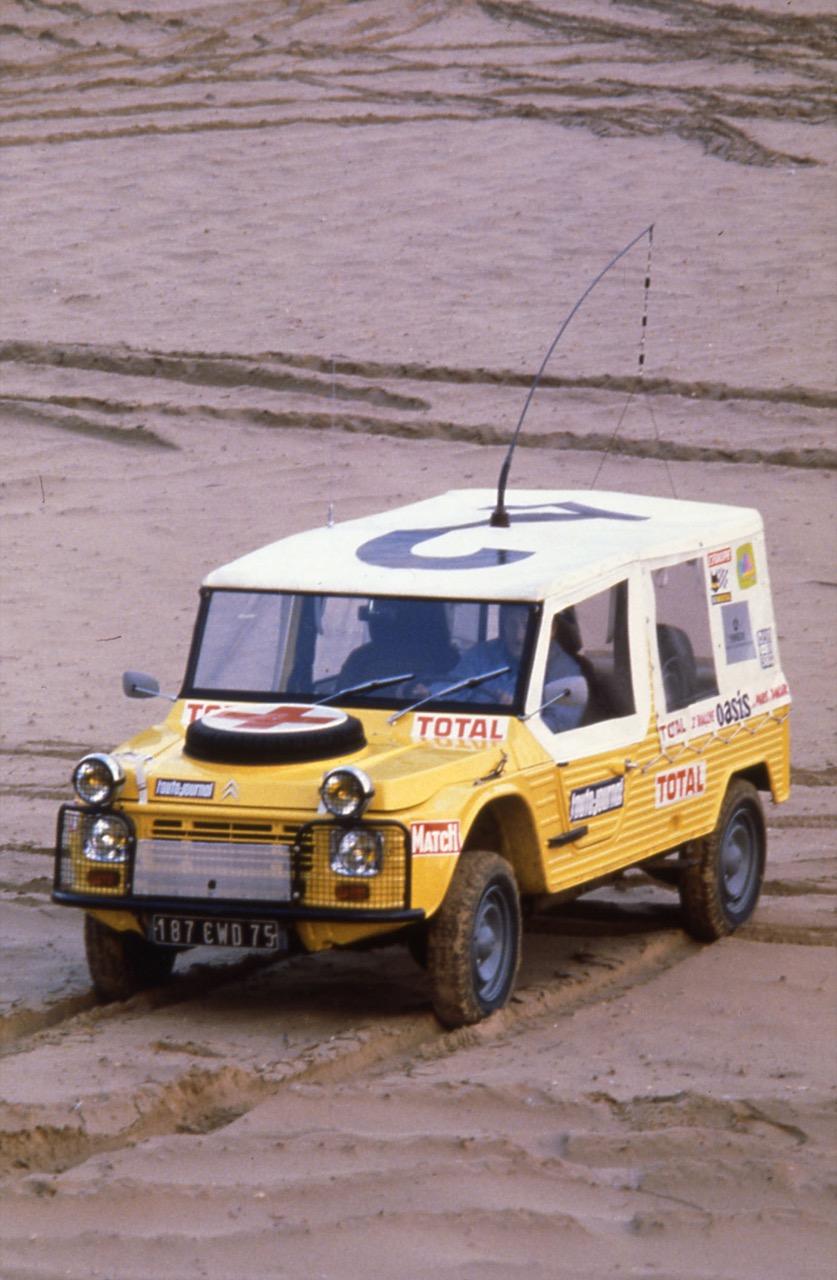 Citroen Mehari - 4x4 militare e Medicale nella Parigi-Dakar 1980