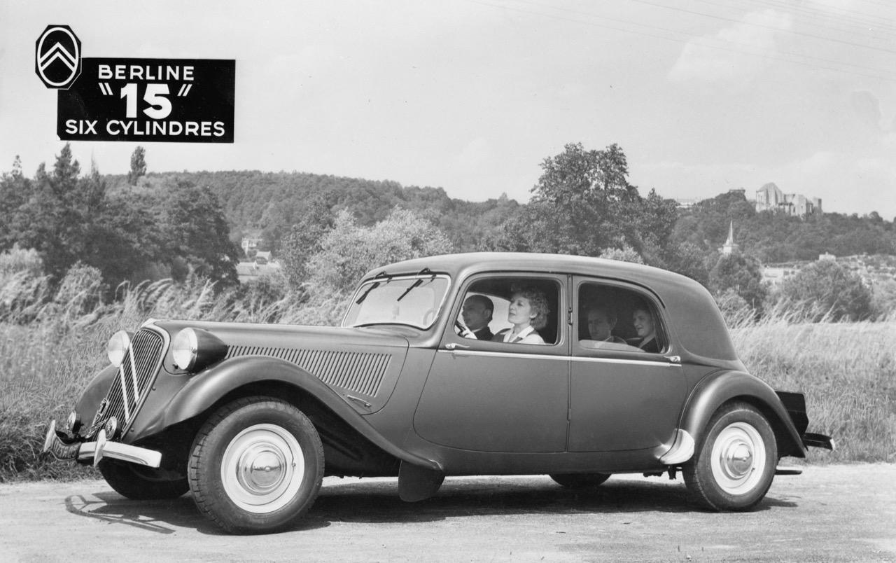 Citroen Traction Avant - modelli e protagonisti