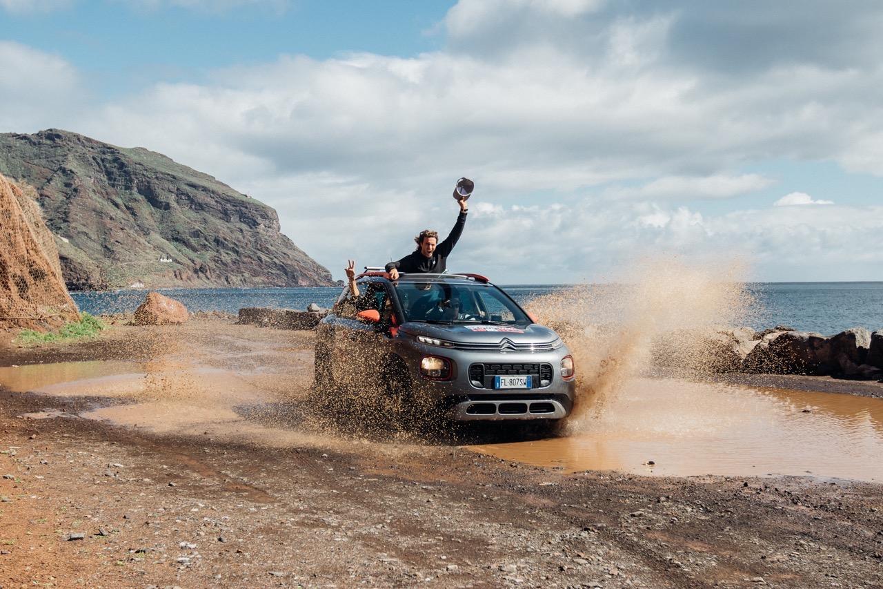 Citroen Unconventional Team 2018 - Surf trip Tenerife