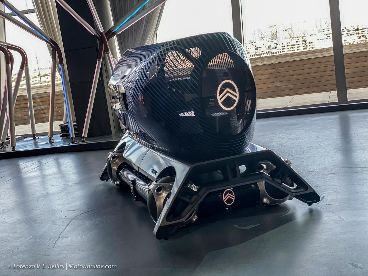 Citroen Urban Collectif - Skate e Pods Guida Autonoma