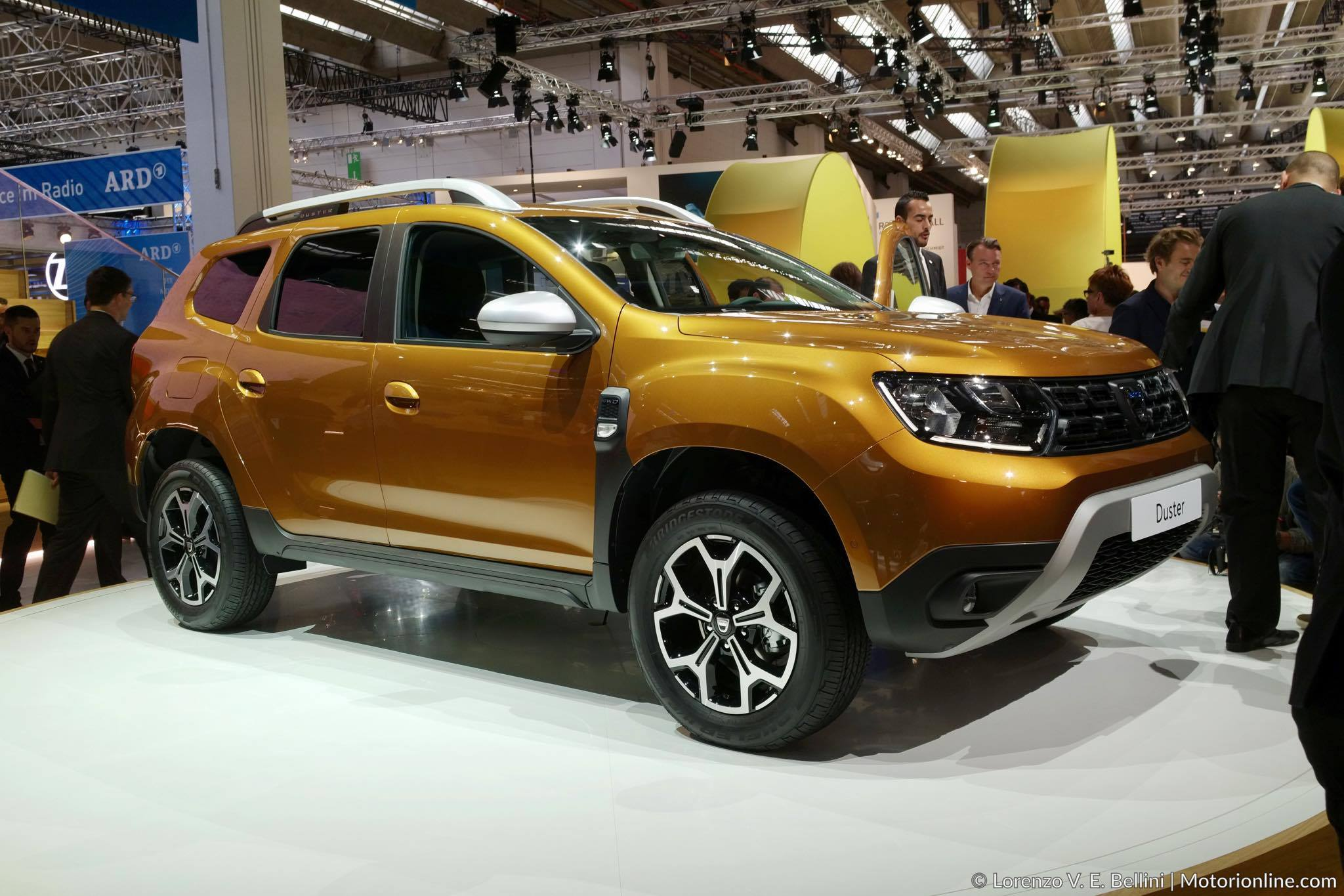 Dacia Duster MY 2018 - Salone di Francoforte 2017