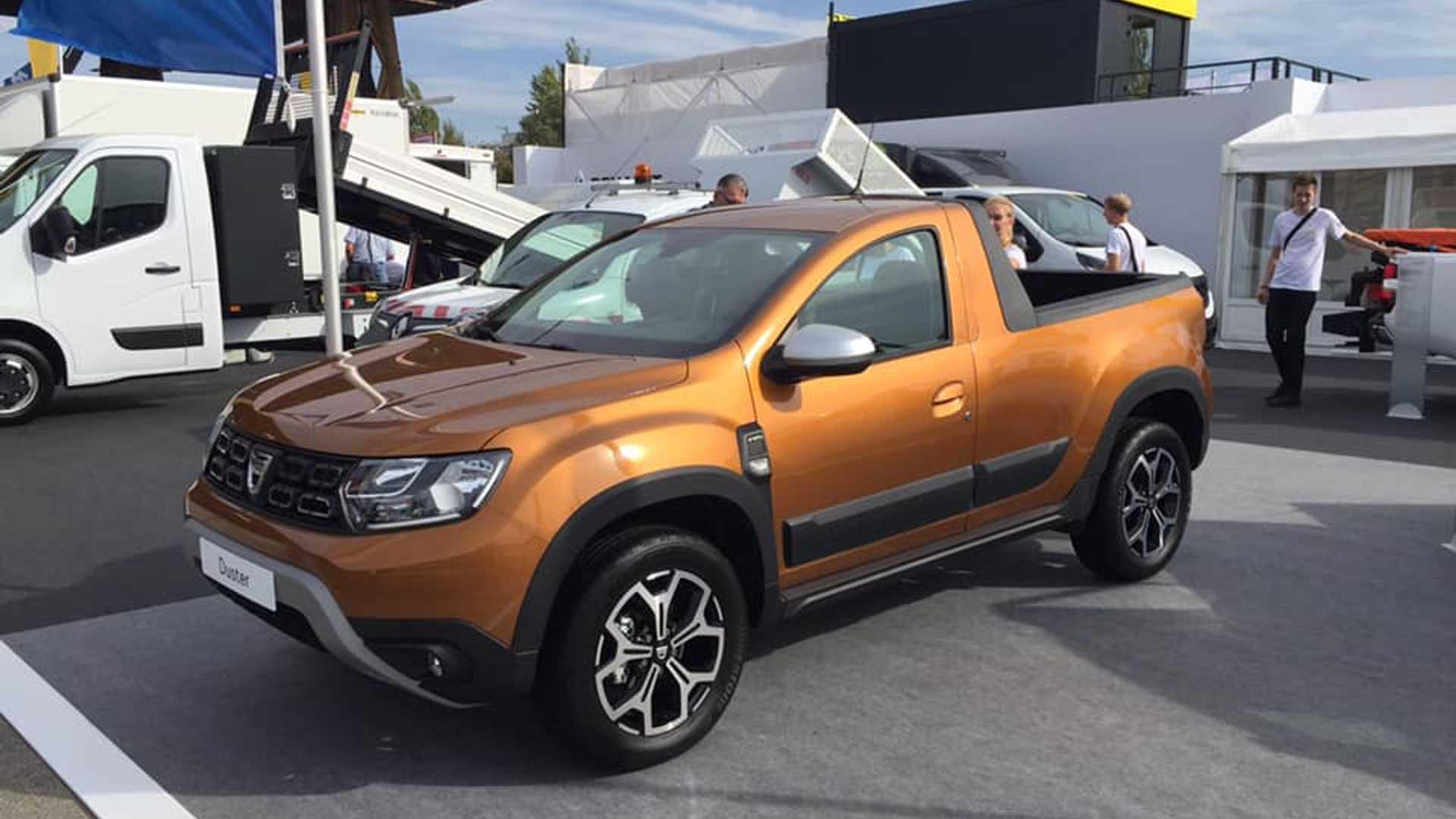 Dacia Duster - Versione pick-up