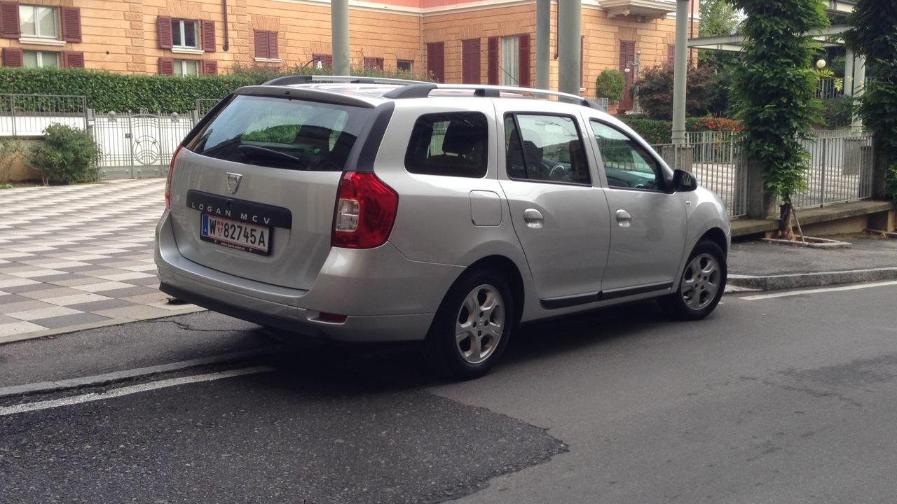 Dacia Logan MCV - Primo contatto