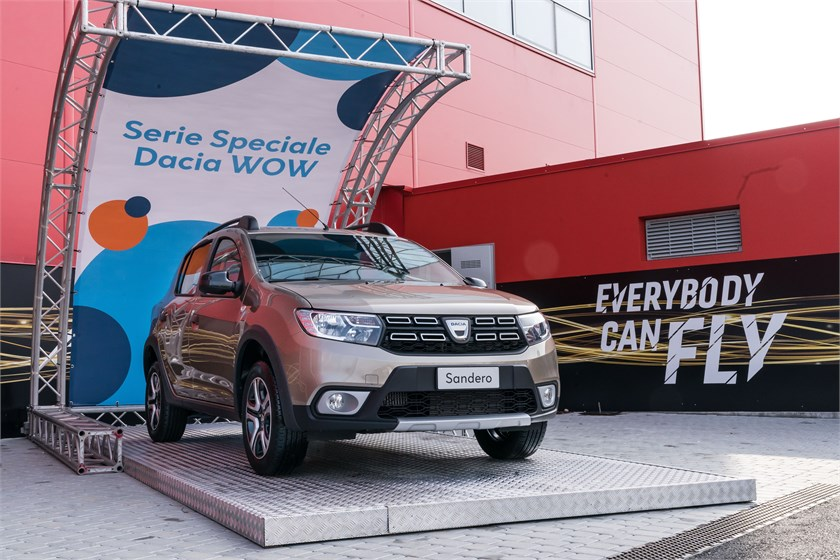 Dacia WOW serie speciale