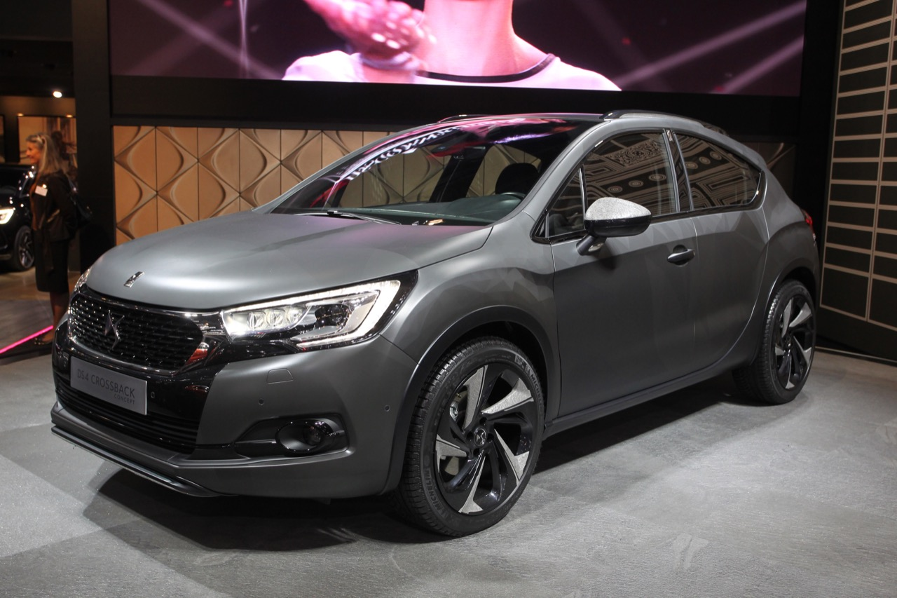DS4 Crossback - Salone di Francoforte 2015 - 13/17
