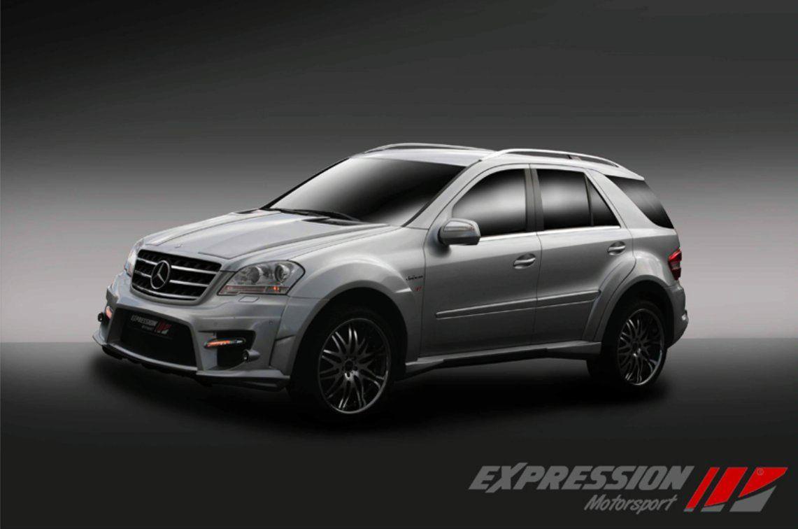 Expression Motorsport Mercedes ML 63 AMG