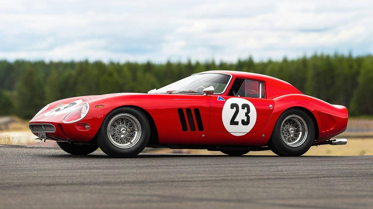 Ferrari 250 GTO vendita record 54 milioni