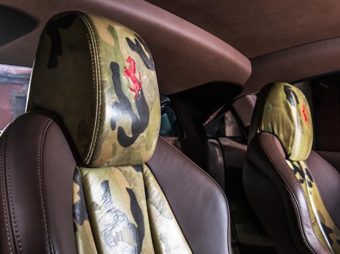 Ferrari 458 Italia Camouflage di Lapo Elkann