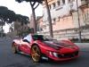 Ferrari 458 Italia e Fabio Barone - pit-stop per Amatrice