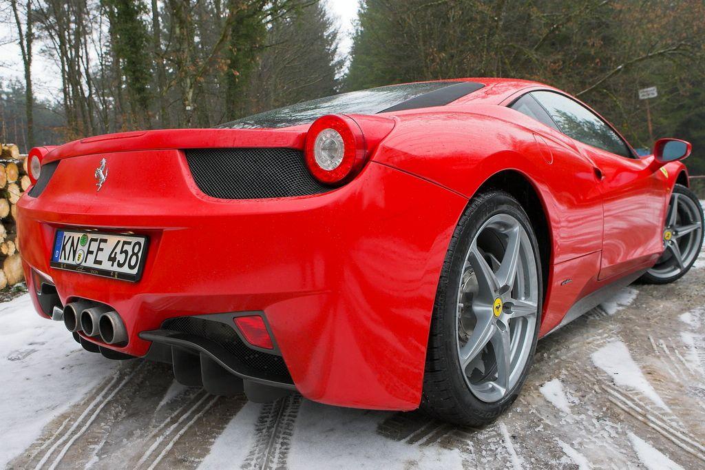 Ferrari 458 Italia: foto live