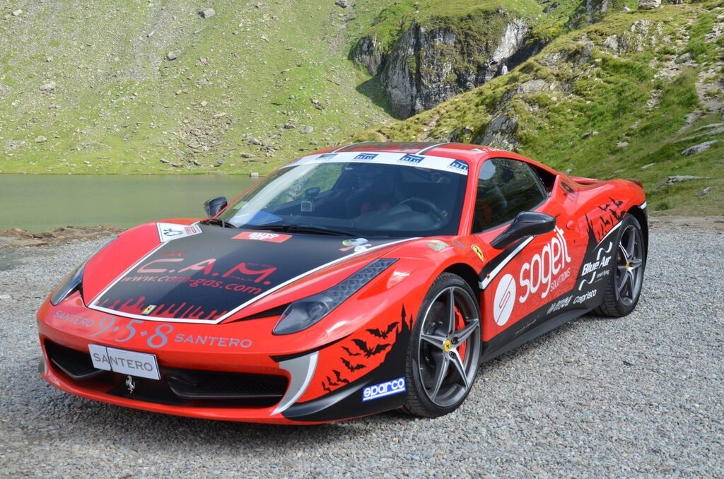 Ferrari 458 Italia - Guinness World Record