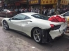 Ferrari 488 GTB - incidente a Lijiang (Cina)