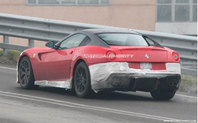 Ferrari 599 GTO - Foto spia 23 febbraio 2010