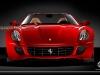 Ferrari 599 Spyder rendering