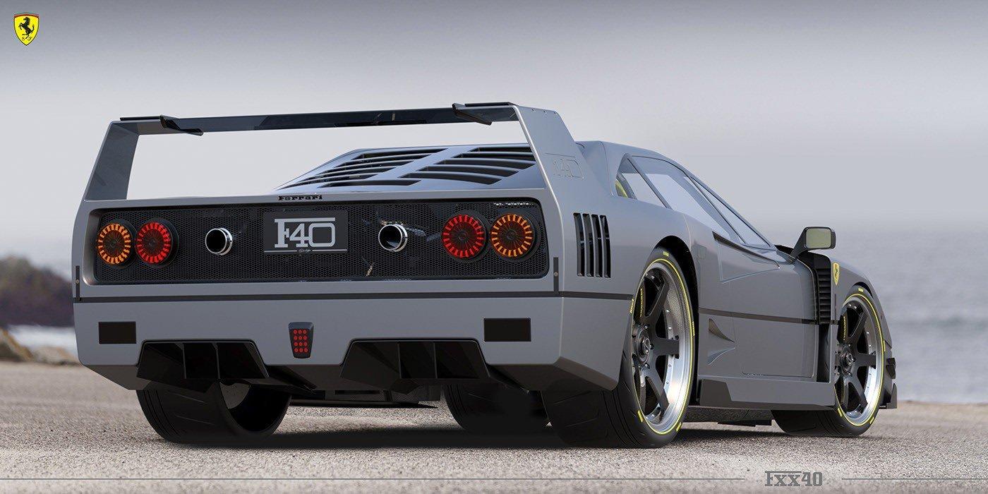 Ferrari F40-FXX40