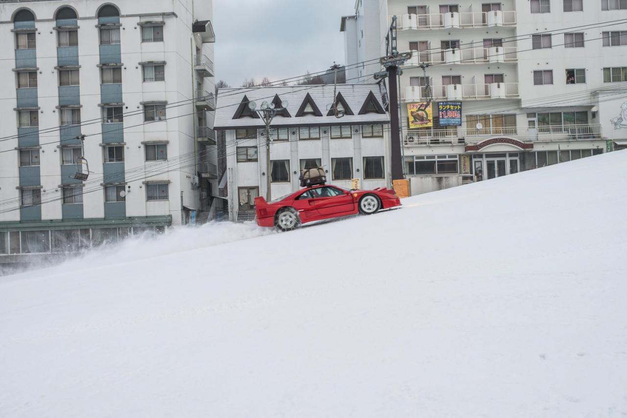 Ferrari F40 - Snow Camp