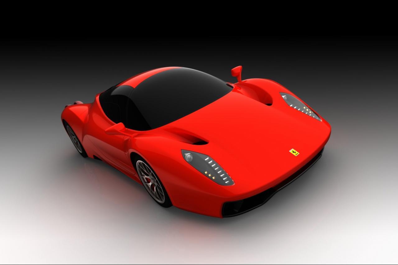 Ferrari F70 Render Foto 3 Di 12