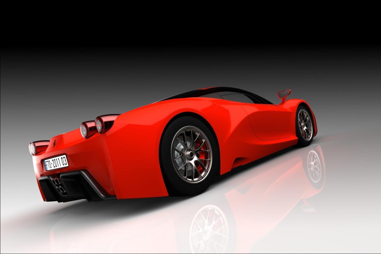 Ferrari F70 Render Foto 8 Di 12