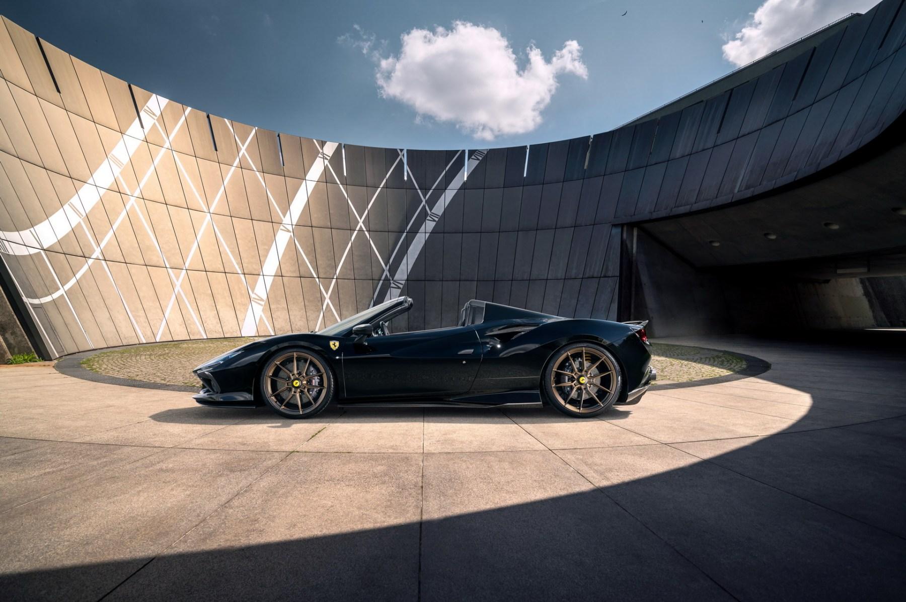 Ferrari F8 Spider - Tuning Novitec